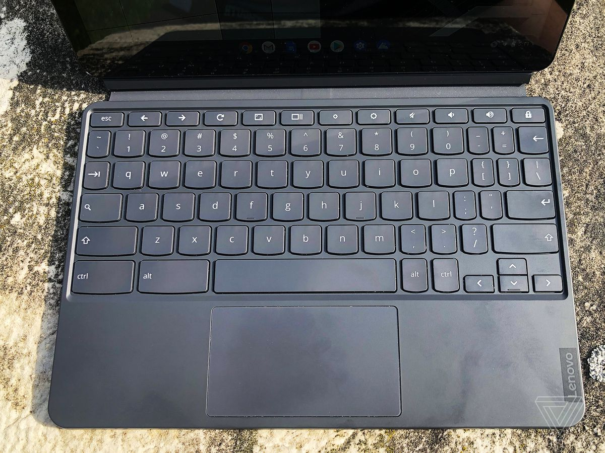 Lenovo Chromebook Duet.