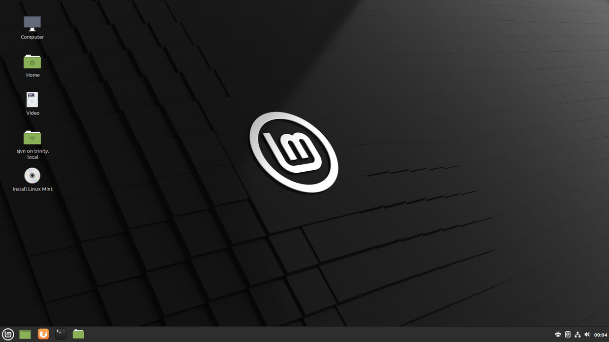 Puteți rula Mint de pe o unitate USB externă.