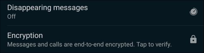 Opțiunea de mesaje care dispar pe WhatsApp