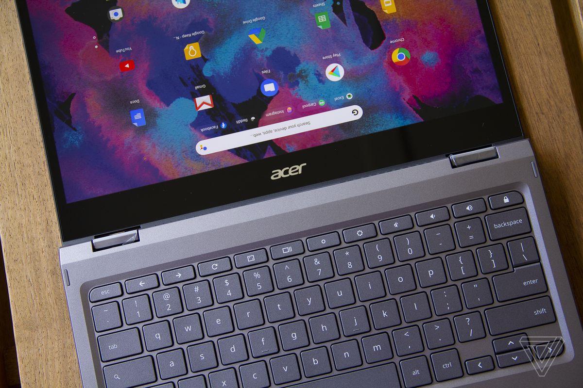 Cele mai bune Chromebookuri 2020: Acer Chromebook Spin 713