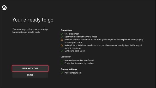 Testarea redării la distanță pe Xbox Series X   S