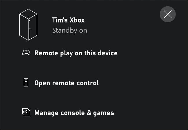 Redare la distanță pe această Xbox prin iPhone