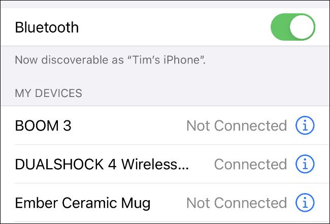 Asociați DualShock 4 cu iPhone prin Bluetooth