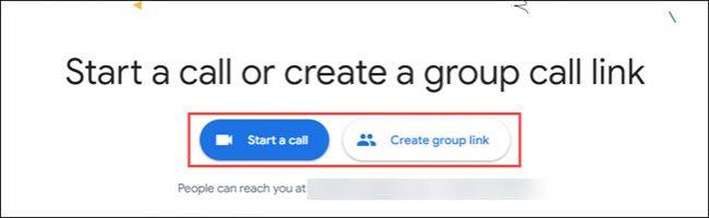 începe un apel sau un grup