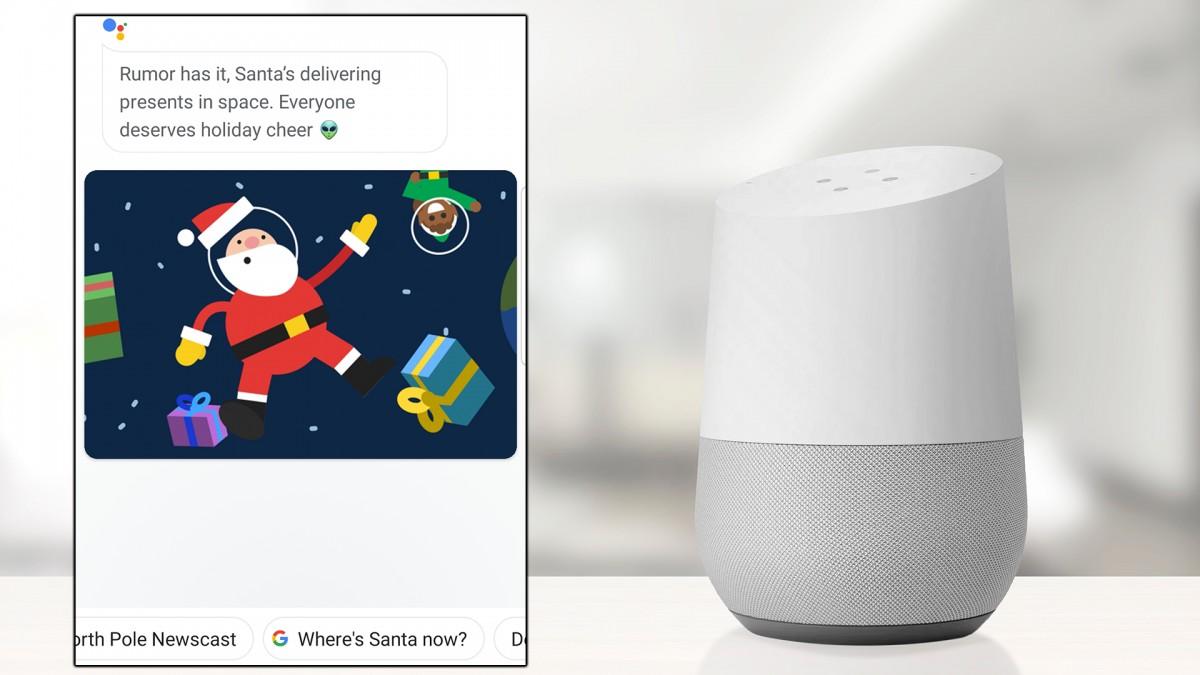 O fotografie a difuzorului inteligent Google Nest.