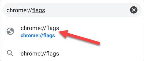 accesați pagina cu steaguri cromate