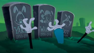 Urmareste i pe Animaniacs cum se ridica din mormant si se