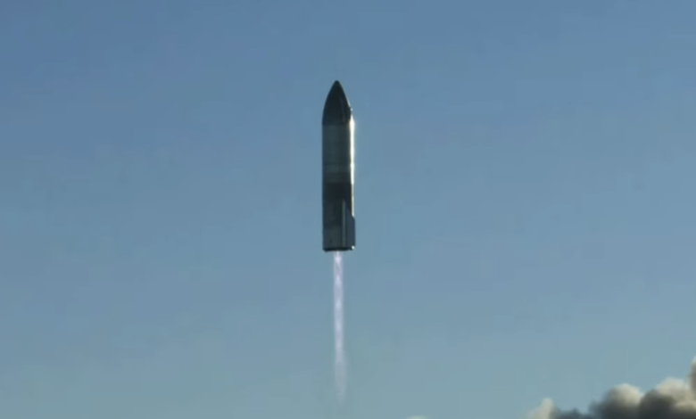 1610417588 SpaceX zboara cu racheta prototip Starship la cea mai mare