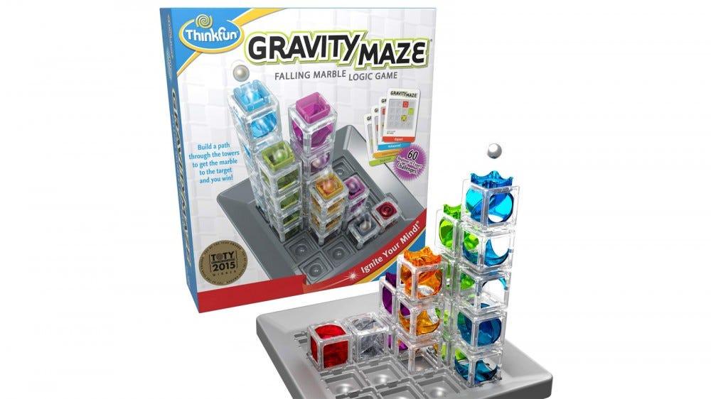 ThinkFun Gravity Maze Marble Run joc de logică