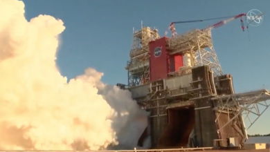 Testul critic al rachetelor NASA se incheie devreme cu o