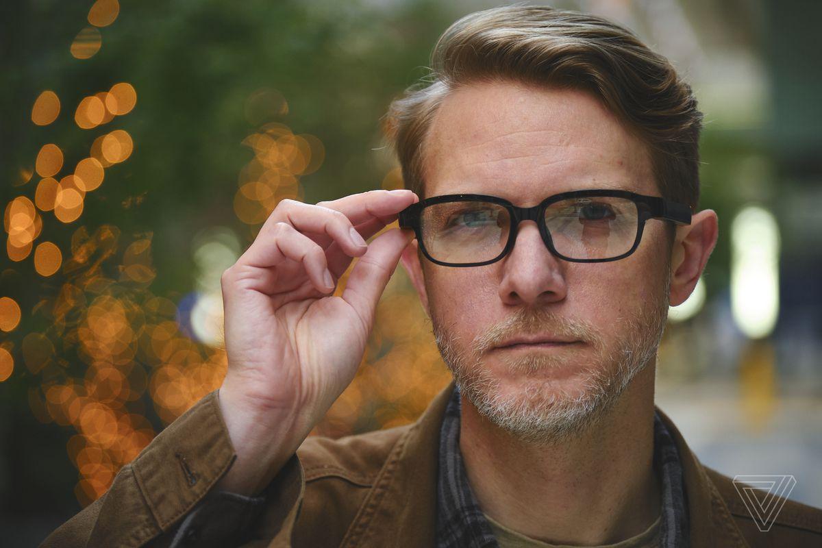Cadrele Echo arată ca ochelari de vedere relativ normali - dar ieftini
