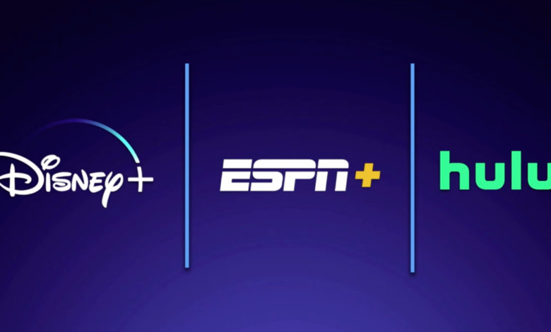 Un pachet care include Disney Plus ESPN Plus si Hulu