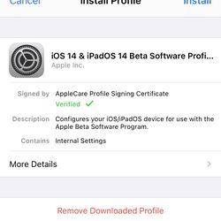 """<em> Dacă atingeți instalare, se va adăuga profilul beta pe telefonul dvs. </em>""""/></noscript></p> <p>            <span class="""
