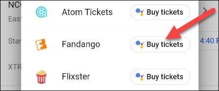 cumpărați bilete cu un serviciu
