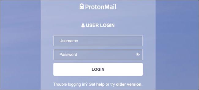 Autentificare ProtonMail