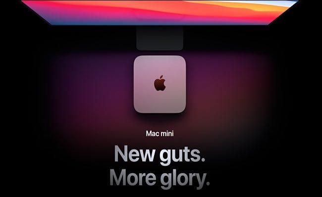 Modelul Apple Mac Mini M1 din 2020