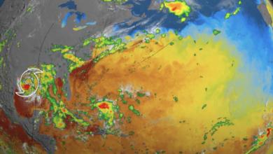 Urmareste sezonul uraganelor din 2020 desfasurandu se intr un fascinant timelapse de