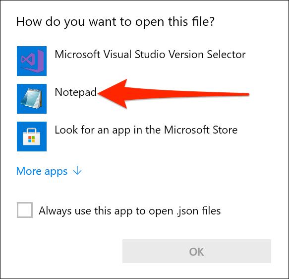 Deschideți setările Terminalului Windows în Notepad