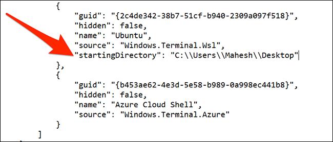 Schimbați directorul implicit al Ubuntu