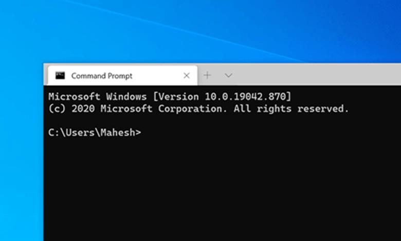 1620160147 Cum se schimba directorul implicit in terminalul Windows