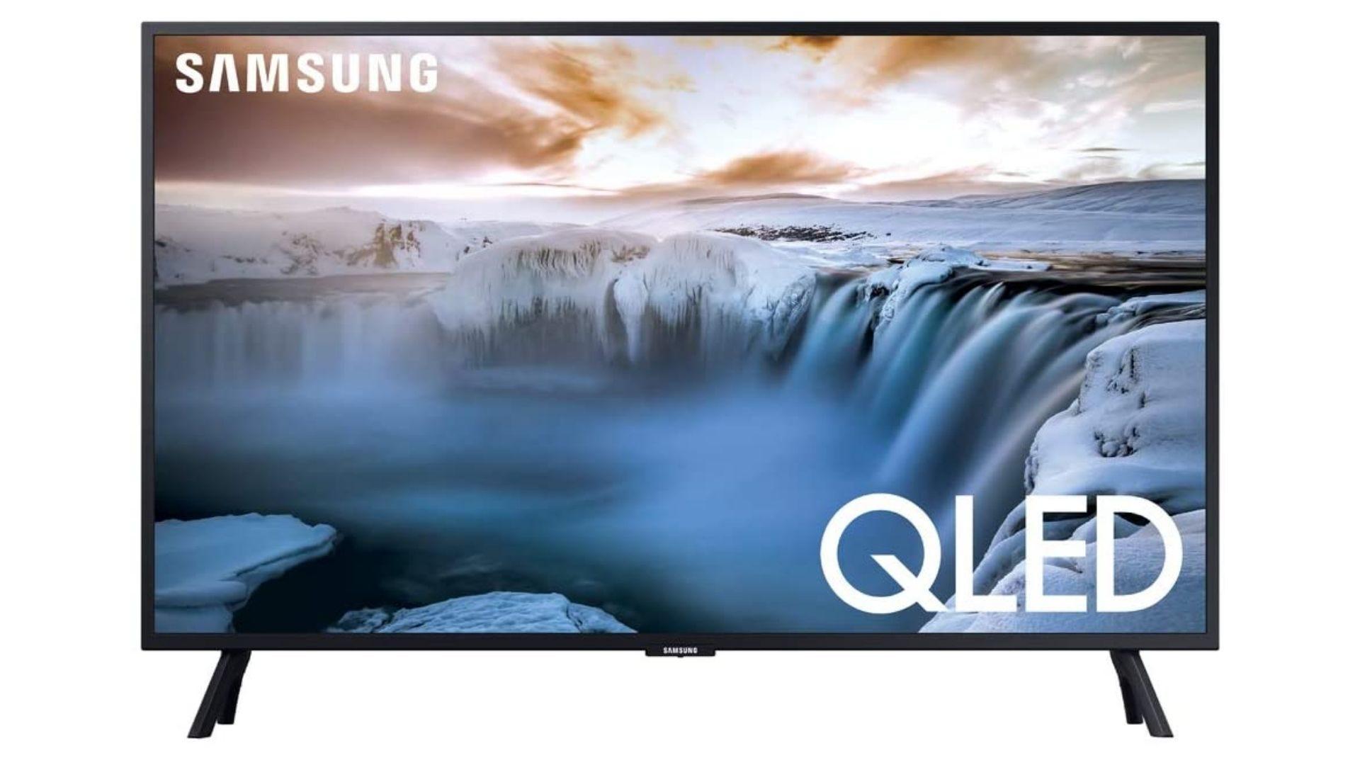 SAMSUNG QN32Q50RAFXZA Flat 32 QLED 4K Seria 32Q50 Smart TV (model 2019)