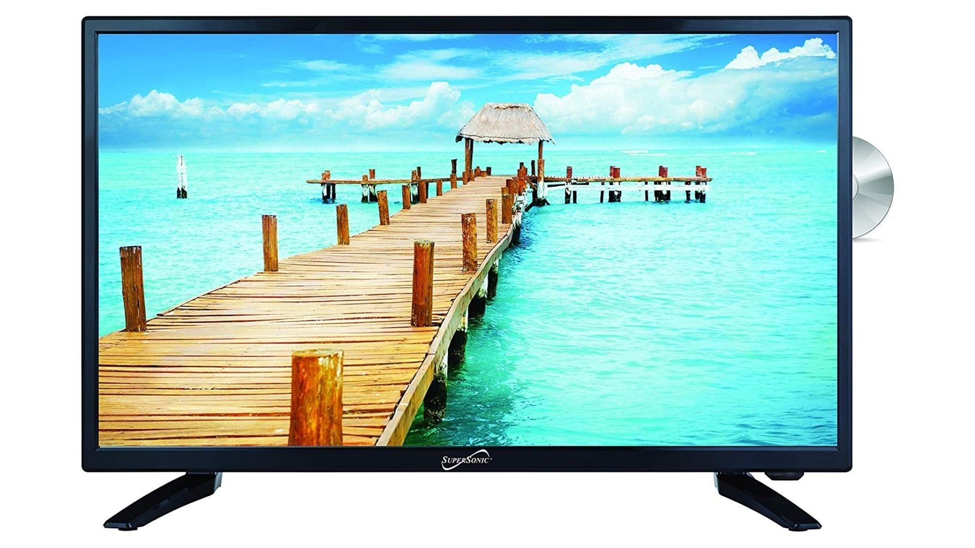 SuperSonic SC-2412 LED cu ecran lat HDTV