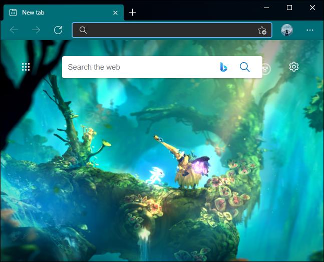 Browser tematic Edge