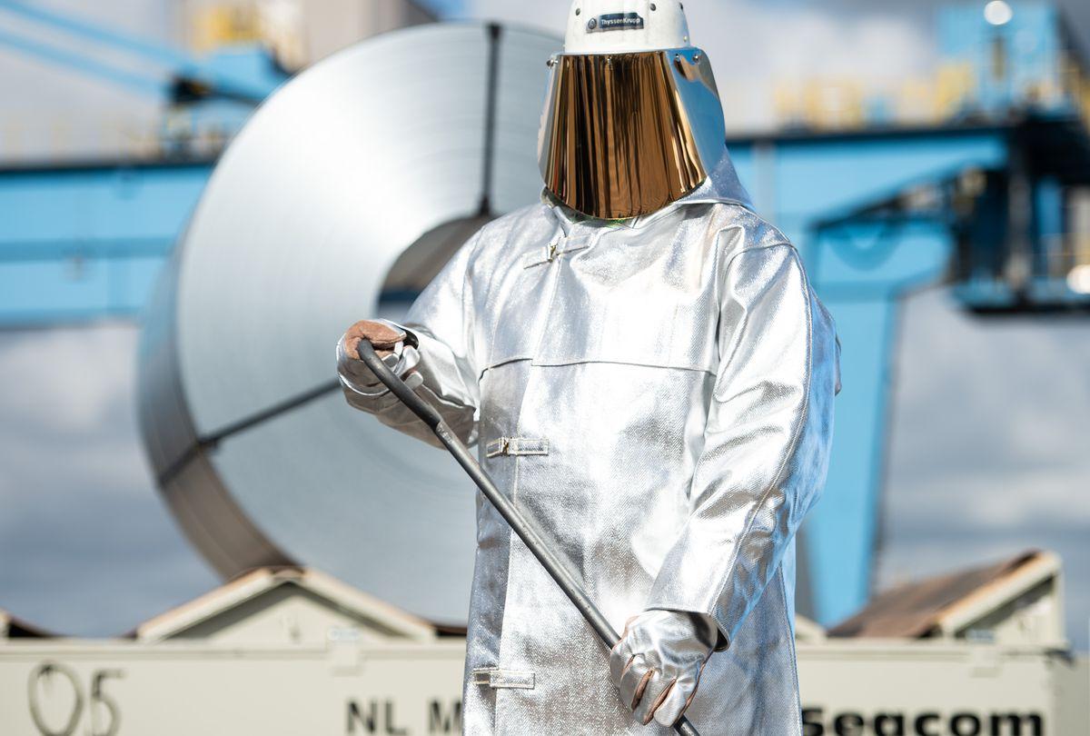 Ministrul federal al economiei, Altmaier, vizitează fabricile siderurgice