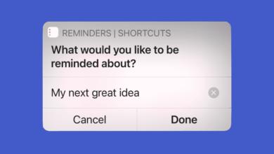 1621753229 Cum sa notati rapid mementourile folosind comenzile rapide pe iPhone