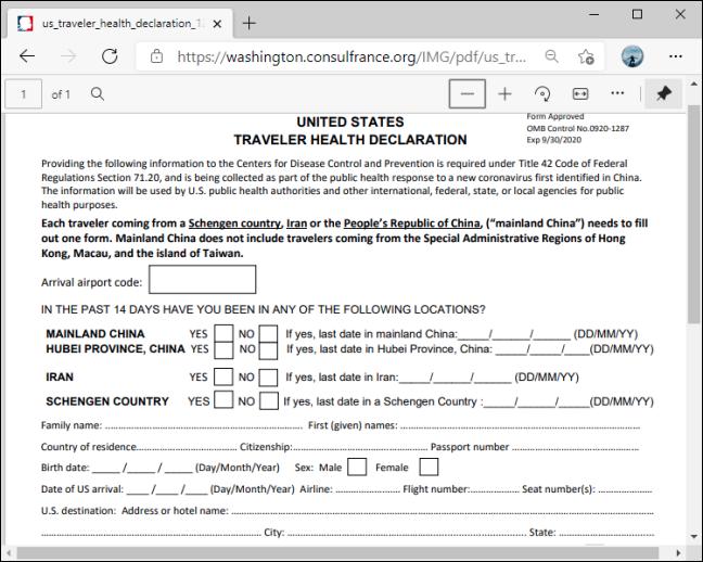 PDF fără suport pentru editare în Microsoft Edge