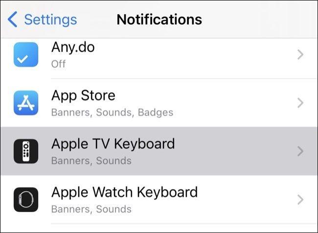 Notificări iPhone