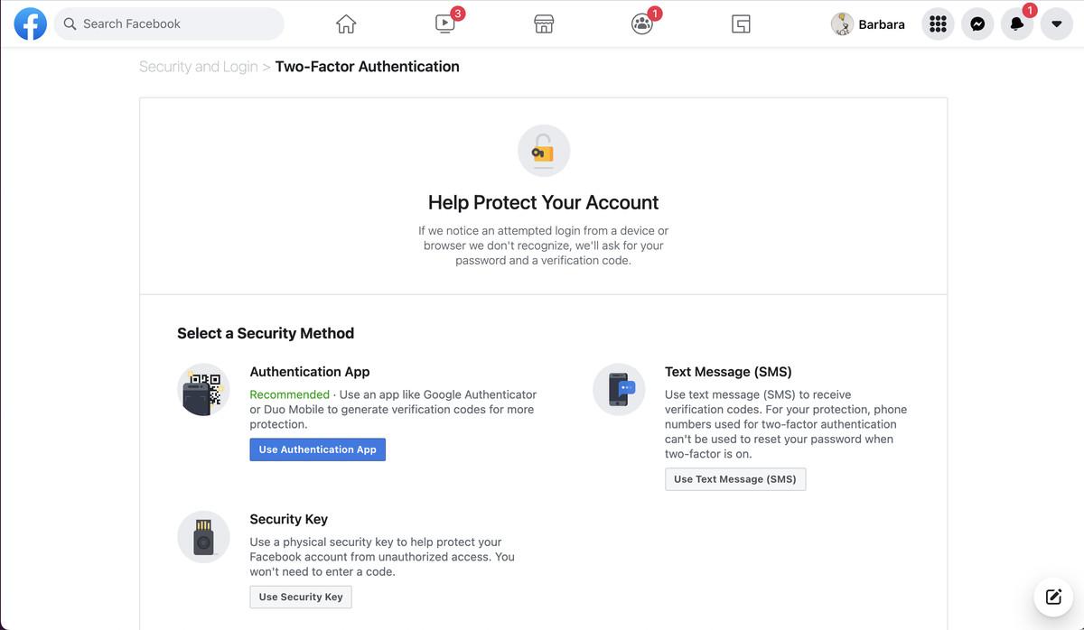 Puteți utiliza o cheie de securitate ca metodă principală de autentificare.