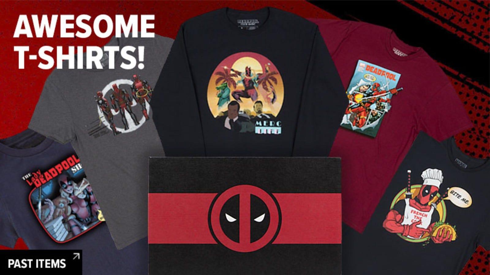 hanorace și tricouri în Deadpool Lootcrate