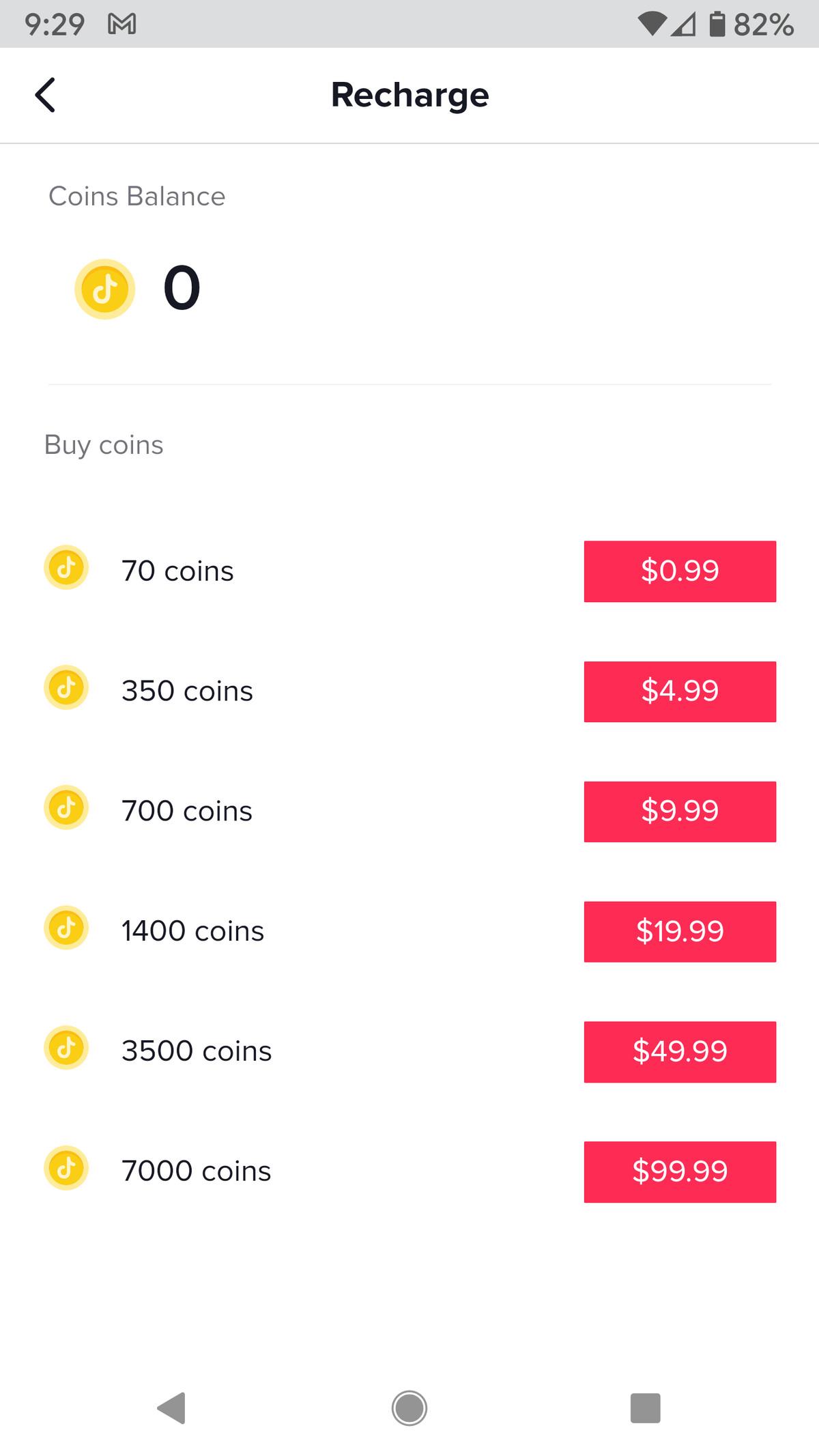 Alegeți câte monede doriți să cumpărați.