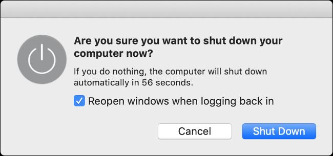 Reporniți computerul Mac și este posibil să vedeți o îmbunătățire a gestionării energiei.