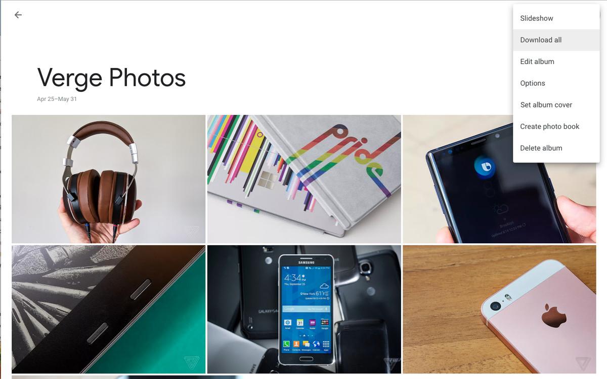 albumul de fotografii google
