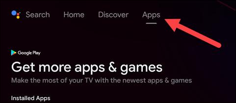 """Pentru a vedea toate aplicațiile într-un singur loc, puteți accesa """"Aplicații"""" pagină."""