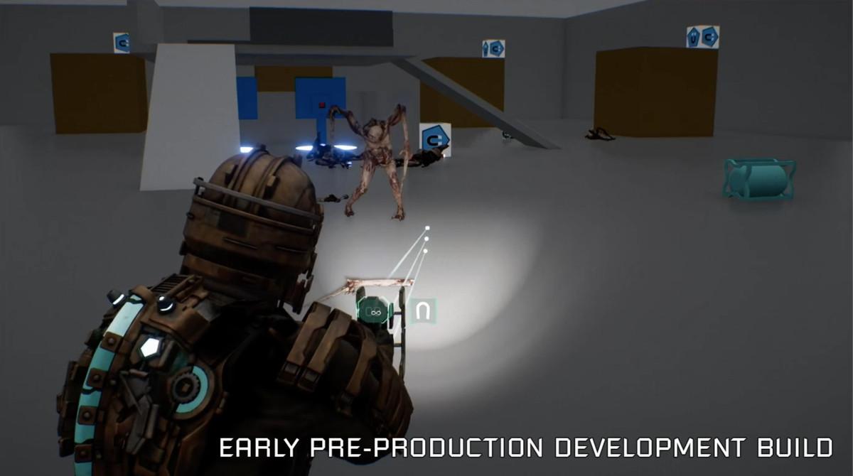 Early Dead Space reface imagini despre filmarea unui necromorf