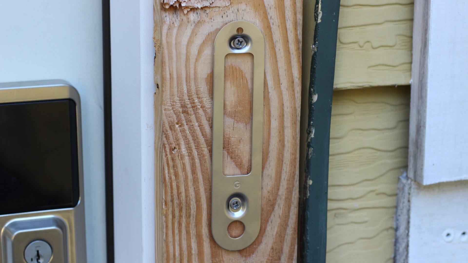 Suportul de montare Nest Doorbell (baterie)
