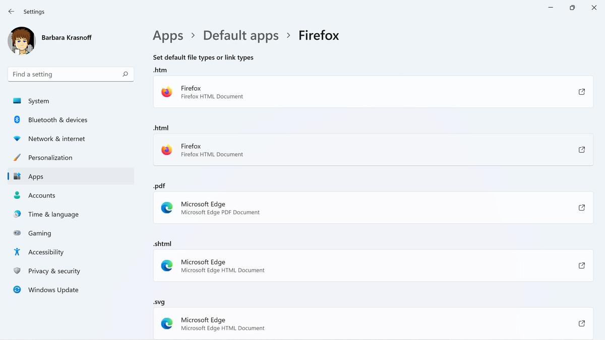 Expertul implicit Firefox comută unele - dar nu toate - setările fișierului browserului.