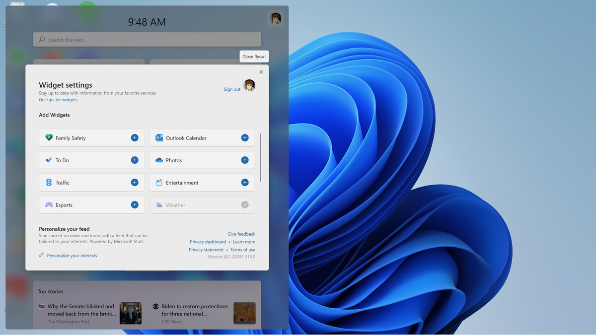 Windows 11 nu are încă multe widget-uri, dar asta se poate schimba.